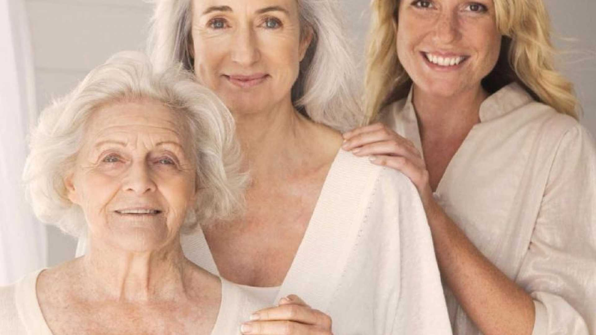 A kollagén segít a szépség megőrzésében  <br>Három nemzedék szépségét, egészségét biztosíthatja a kollagén